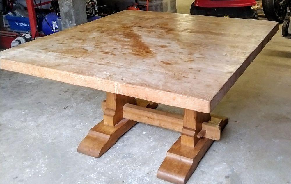 Table en chêne massif Meubles