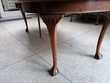 Table en chene massif de style