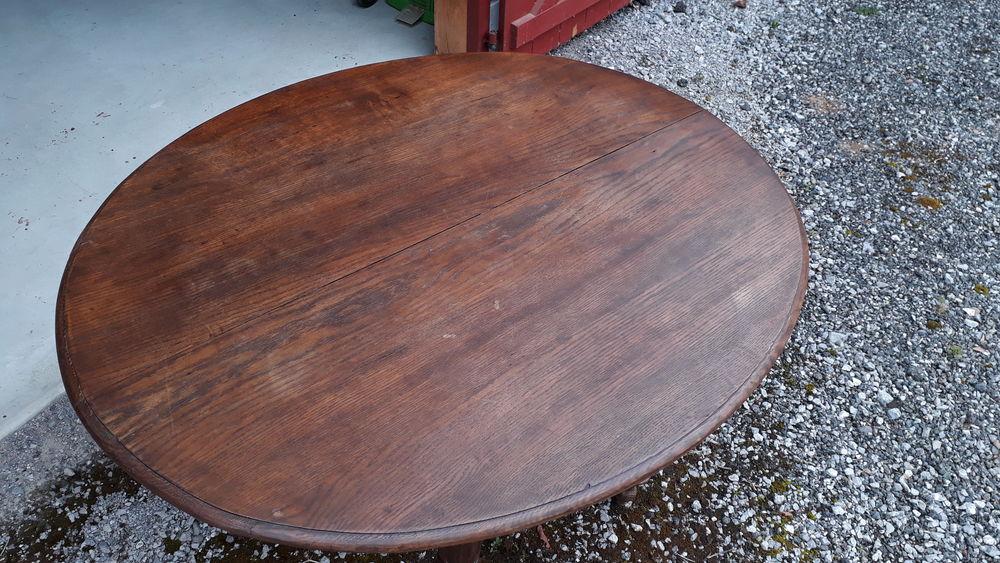 Table chêne massif, rallongeable 130 Arbérats-Sillègue (64)
