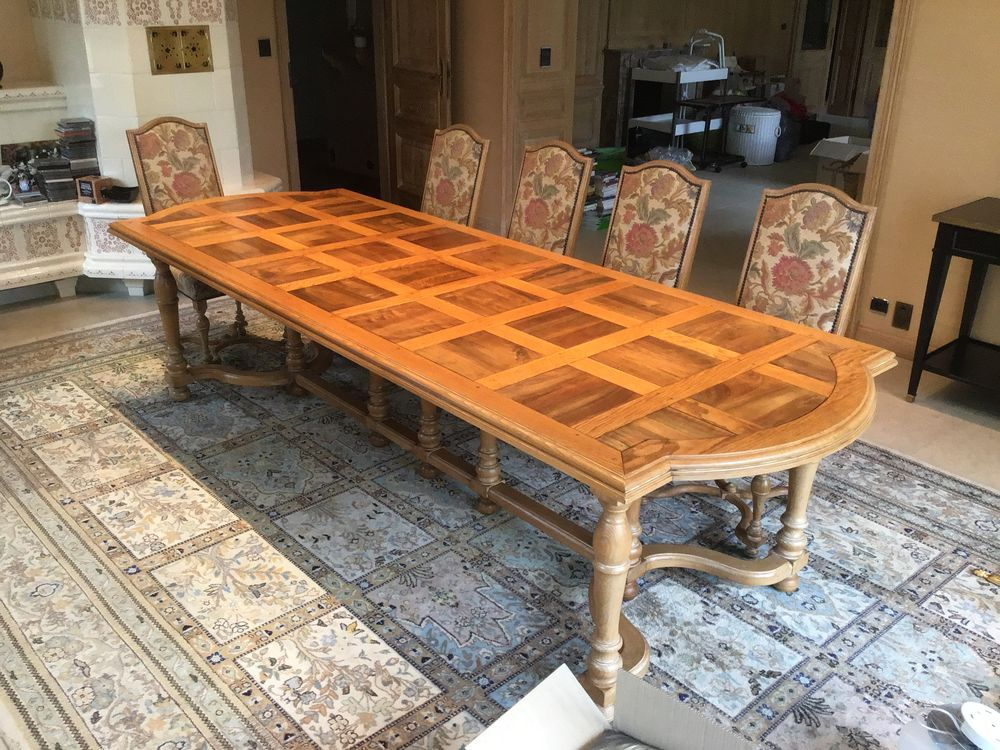 Vend table en chêne et noyer 5500 Phalsbourg (57)