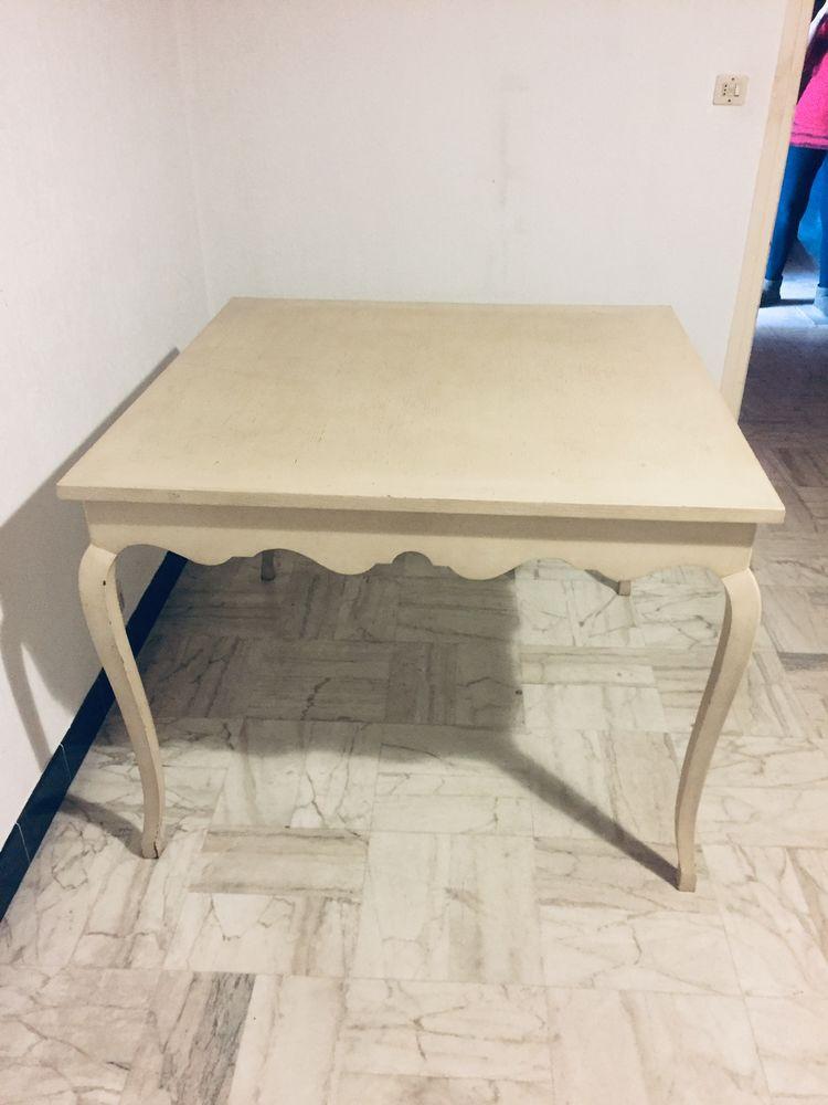 Table Chêne patiné créatrice Martine PEZELET 0 Sartrouville (78)