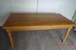 Table en chêne réalisée par un  artisan ébéniste 450 La Bazoge (72)