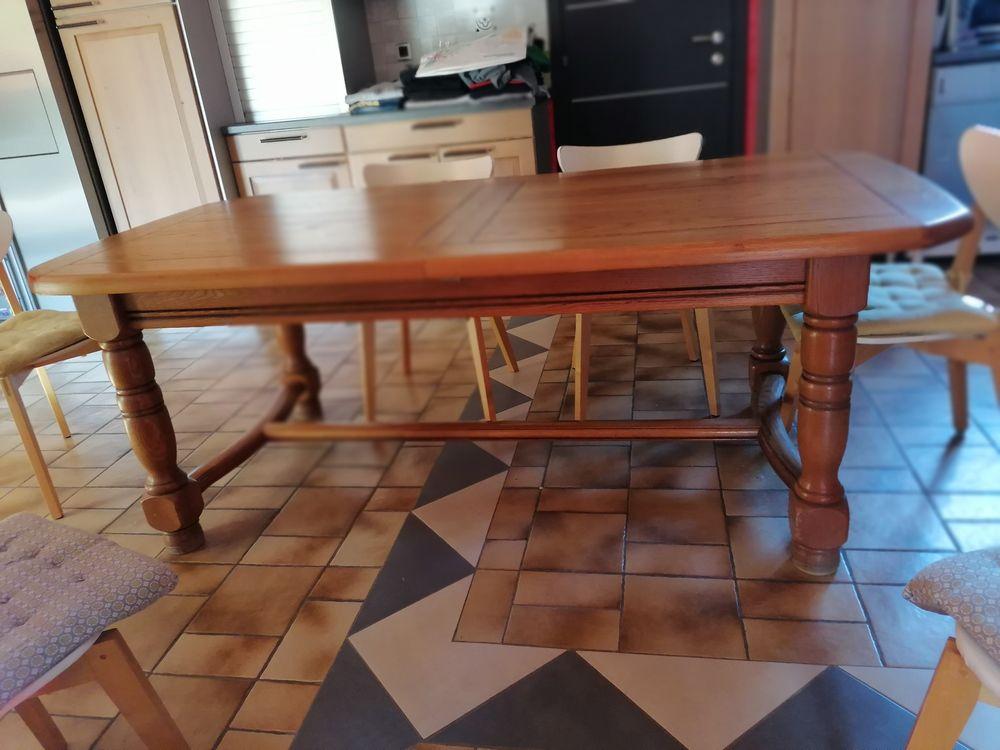 Table en chêne 250 Montélimar (26)
