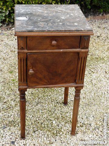 Great table de chevet avec dessus marbre meubles with - Table de chevet marbre ...