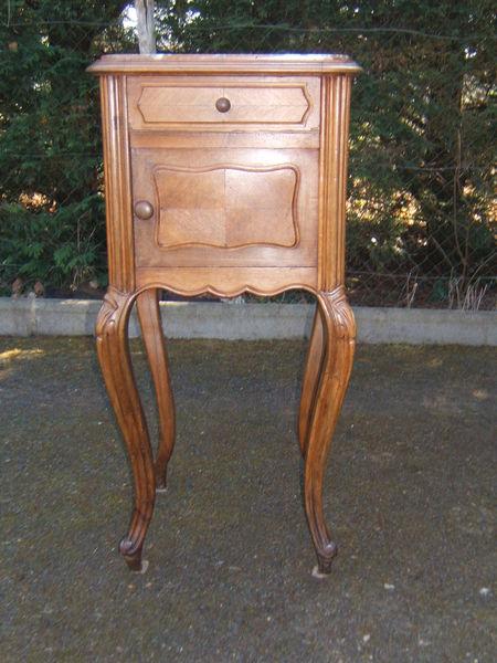 Vente table de nuit ancienne - Table de nuit rustique ...