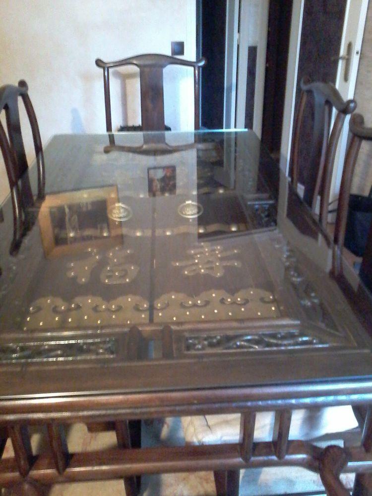 table chinoise et 6 chaises d origine 600 Plaisir (78)