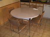table de cuisine avec 6 chaises 125 Carcassonne (11)
