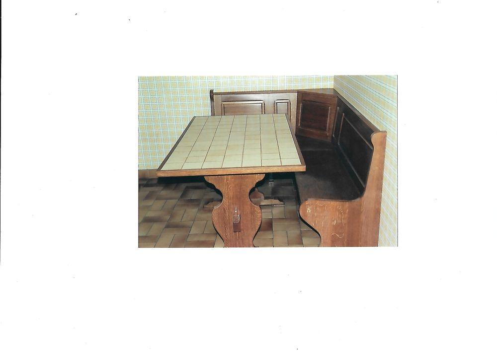table de cuisine avec banc d'angle 100 Saint-Pierre-des-Nids (53)