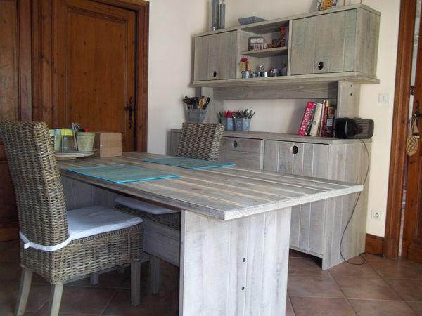 Cuisine a bois doccasion for Table de cuisine d occasion