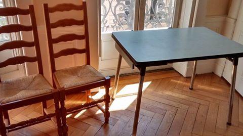 Achetez table de cuisine 2 occasion annonce vente lyon 69 wb152595564 - Cherche table de cuisine ...