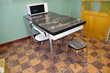 Table de cuisine en formica noir et ses chaises Lagnieu (01)