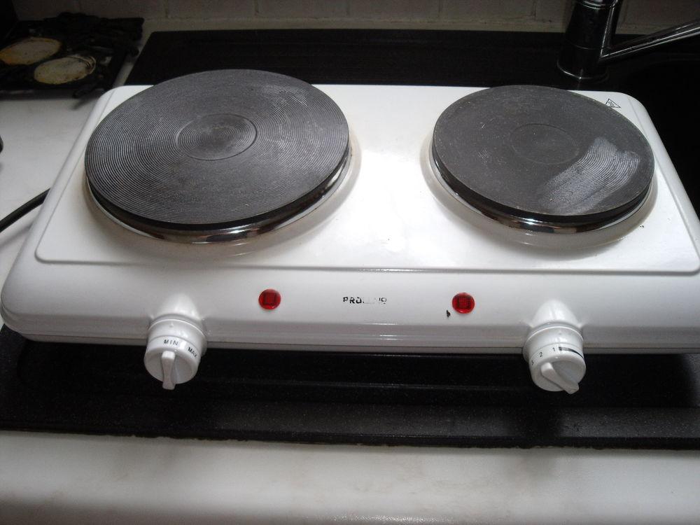 table de cuisson electrique 2 feux a 10
