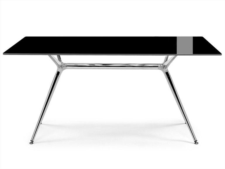 TABLE DESIGN + 4 CHAISES SCAB 600 Marseille 6 (13)