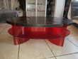 Table design en chêne salon Meubles