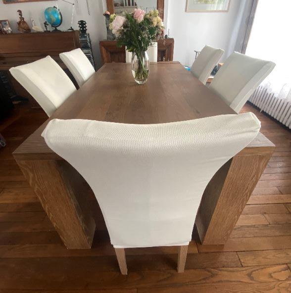 Table design 6/8 Personnes + 8 Chaises 500 Veneux-les-Sablons (77)