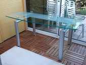 TABLE DESIGN EN VERRE 390 Vourles (69)