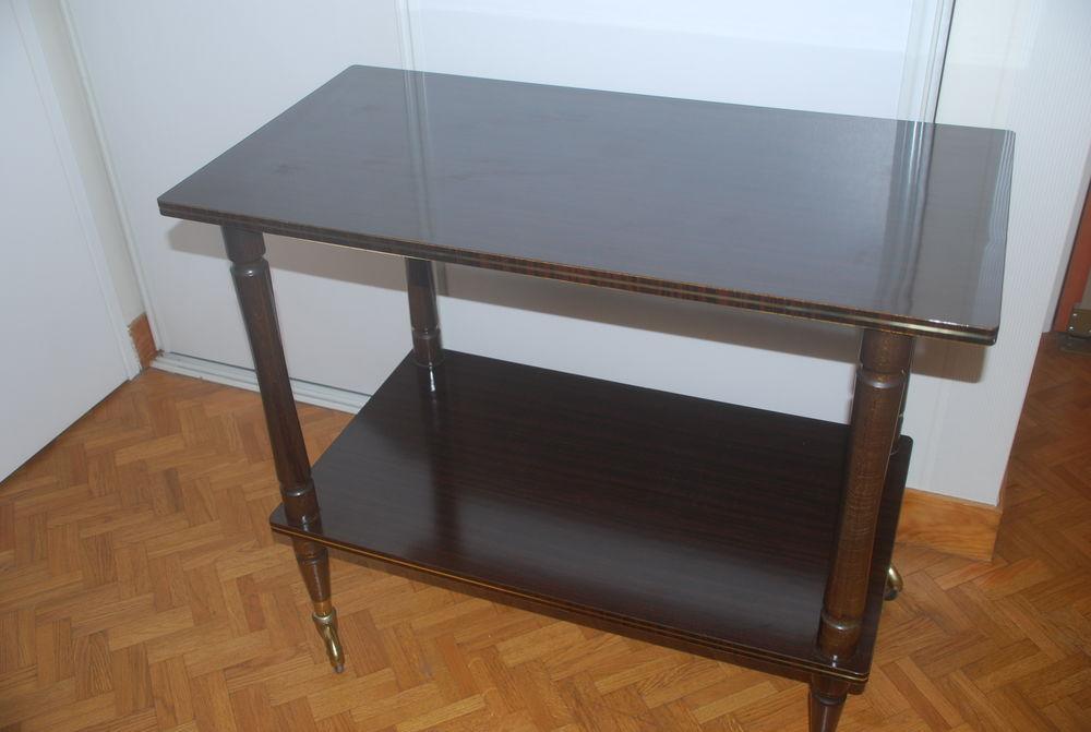 TABLE DESSERTE A ROULETTES Meubles