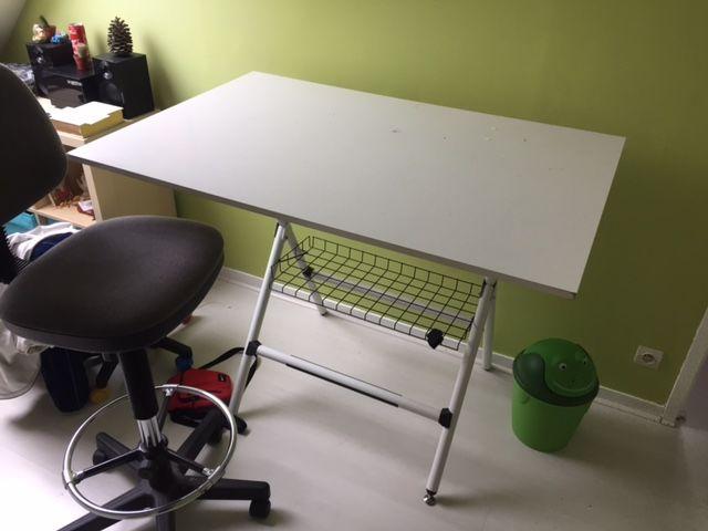 Table à dessin inclinable + Chaise haute 50 Évreux (27)
