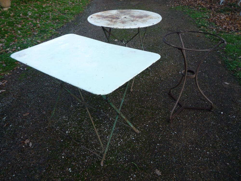 Table fer dessus tôlé, de jardin/terrasse 55 Castres (81)