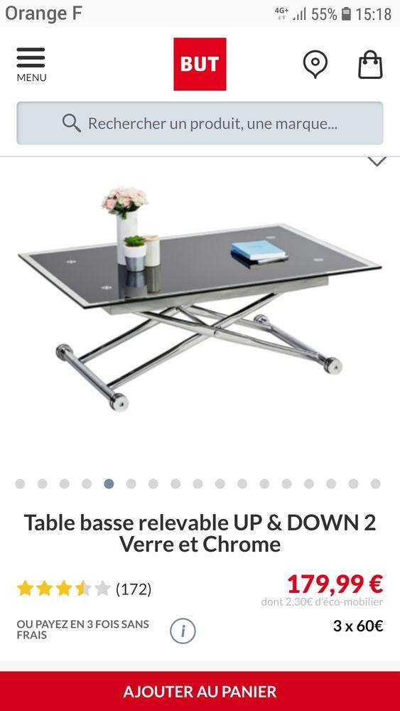 Table up&down position table basse et table de repas. 80 Caen (14)
