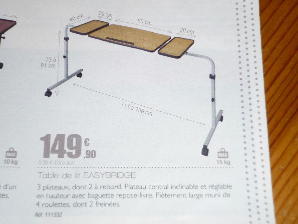 TABLE DE LIT EASYBRIDGE POUR LIT MEDICALISE 100 Saint-Martin-d'Hères (38)