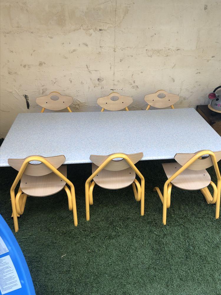 Table d école et chaise enfant  0 Vaulx-Milieu (38)