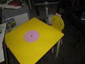 TABLE ENFANT en bois 25 Étaples (62)