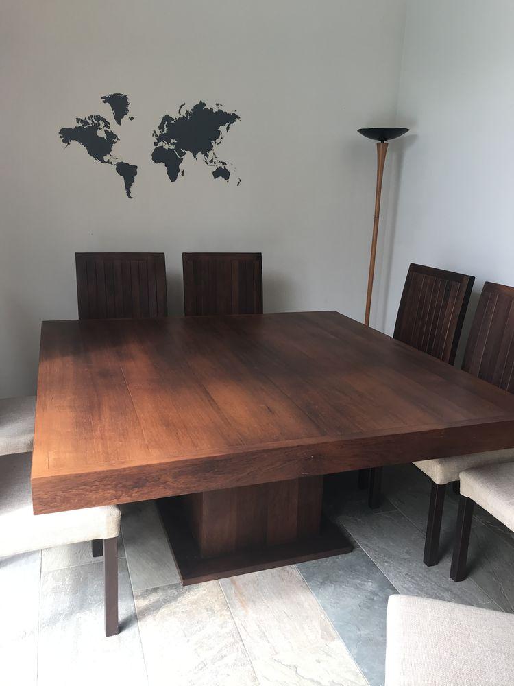 Table exceptionnelle en palissandre de Madagascar ! 2000 La Possession (97)