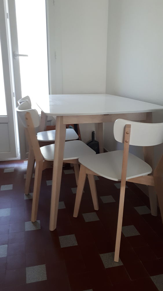 Table extensible et chaises assorties 200 Marseille 9 (13)