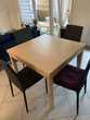 Table extensible IKEA + 4 chaises design Meubles