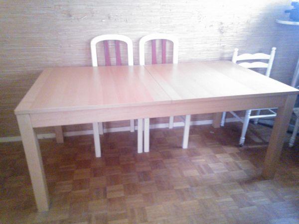 tables extensibles occasion dans le val d 39 oise 95 annonces achat et vente de tables. Black Bedroom Furniture Sets. Home Design Ideas