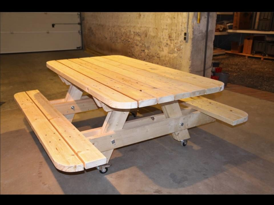 Table Forestire. Perfect Plastique Recycl Table Forestire With Table ...