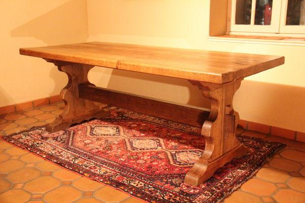 Achetez table de ferme table occasion annonce vente for Table ancienne de ferme