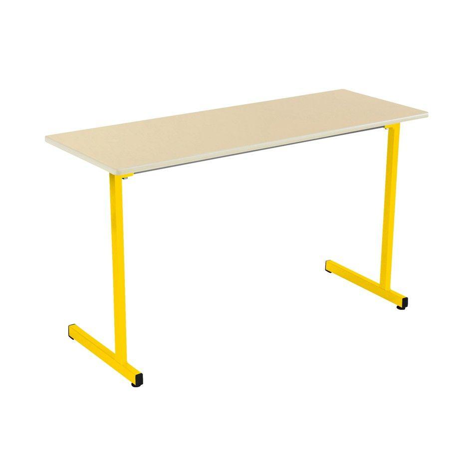 Table fixe Rubi T6, 130 x 50 cm beige jaune REF 116598041 33 Villers-Cotterêts (02)