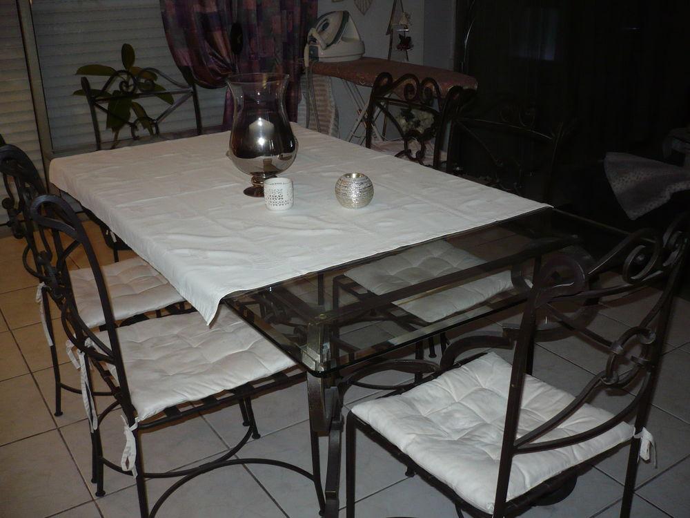 table  fer forge artisanale 900 Cagnes-sur-Mer (06)