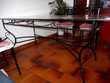 table en fer forgé et 4 chaises Mazières-de-Touraine (37)