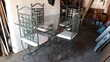 TABLE FER FORGE + 4 CHAISES Meubles