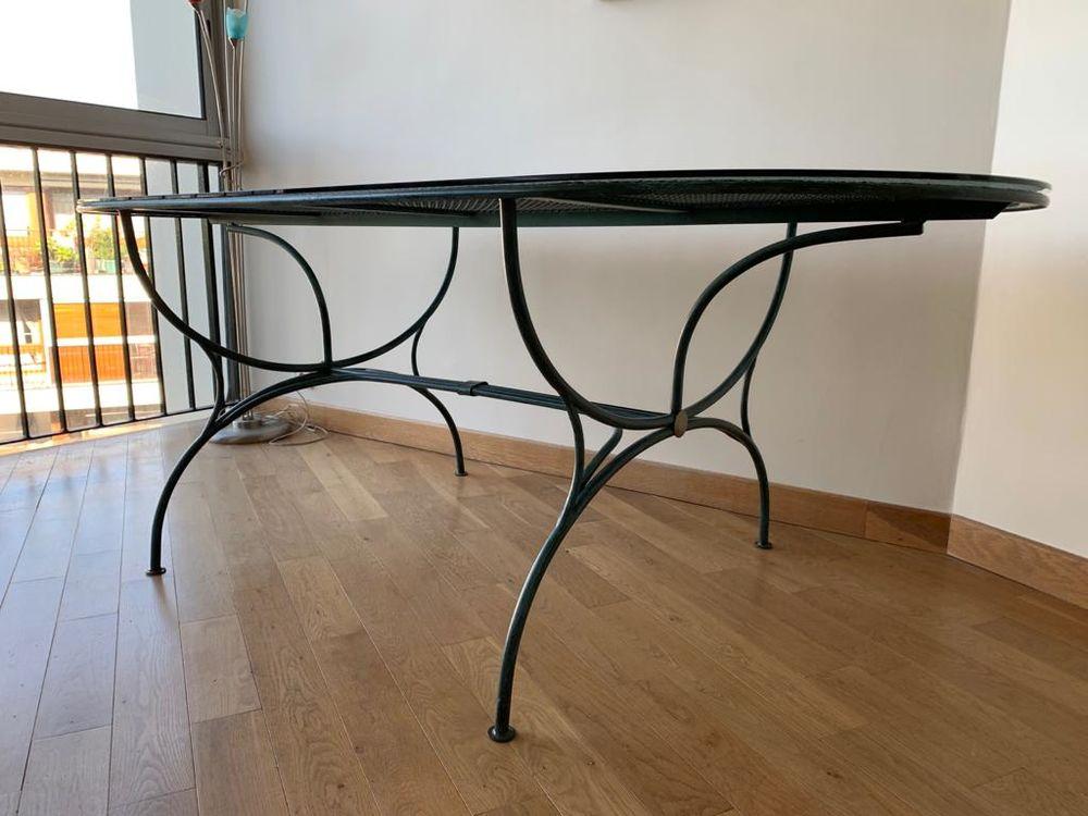 Table fer forgé salle à manger 6-8 personnes 250 Le Chesnay (78)