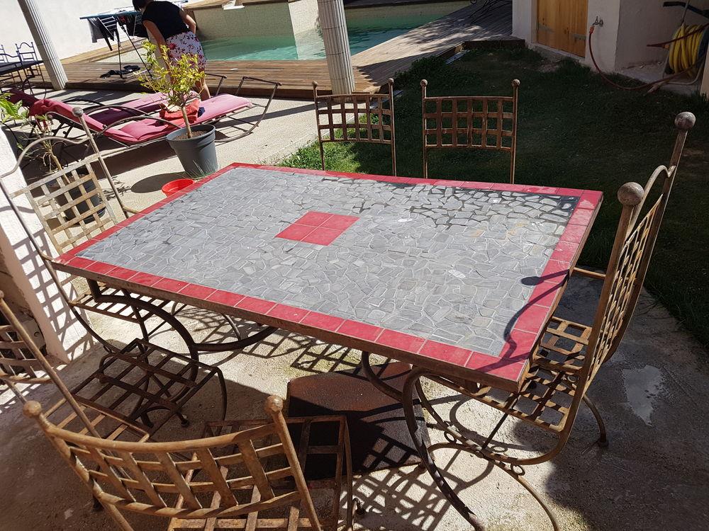 TABLE EN FER FORGE D'ART 0 Montpellier (34)