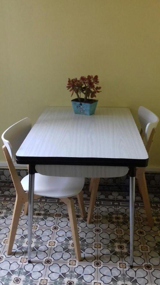 table en formica années 60 Meubles