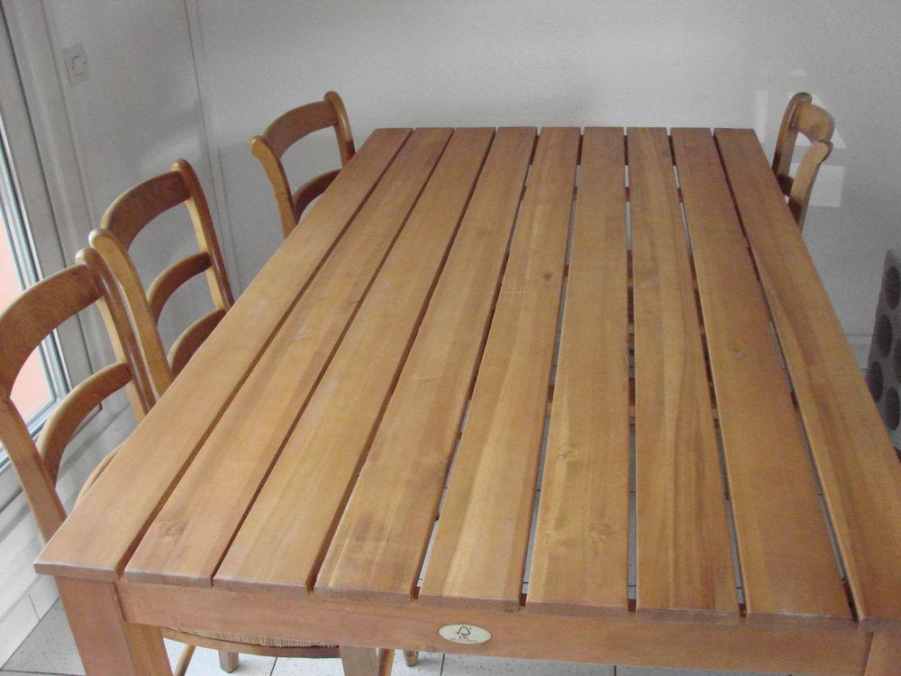 TABLE EN FRÊNE 60 Alénya (66)