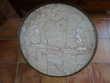 Table guéridon ancien bois de rose et marbre Meubles