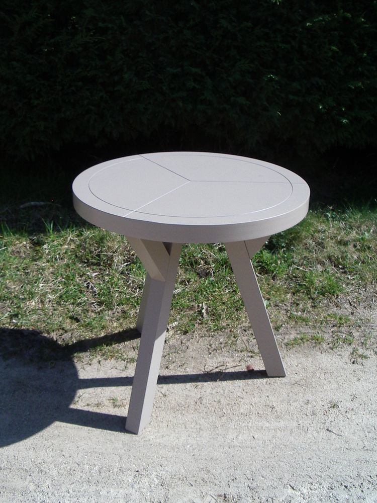 table guéridon dessus rond 110 Châtellerault (86)