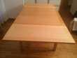 TABLE HABITAT ERABLE A ABATTANTS - 2/8 PERS. Meubles
