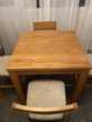 table haute + 4 chaises bois massif Meubles