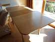 Table haute vintage, pour séjour ou cuisine, avec rallonge Meubles