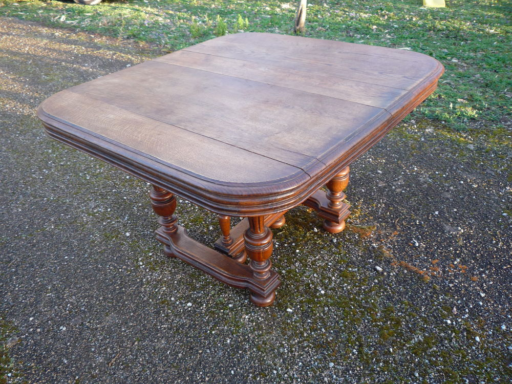 Table Henri II chêne blond 125 Castres (81)