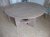 Table en hètre massif de style contemporain 400 La Tremblade (17)
