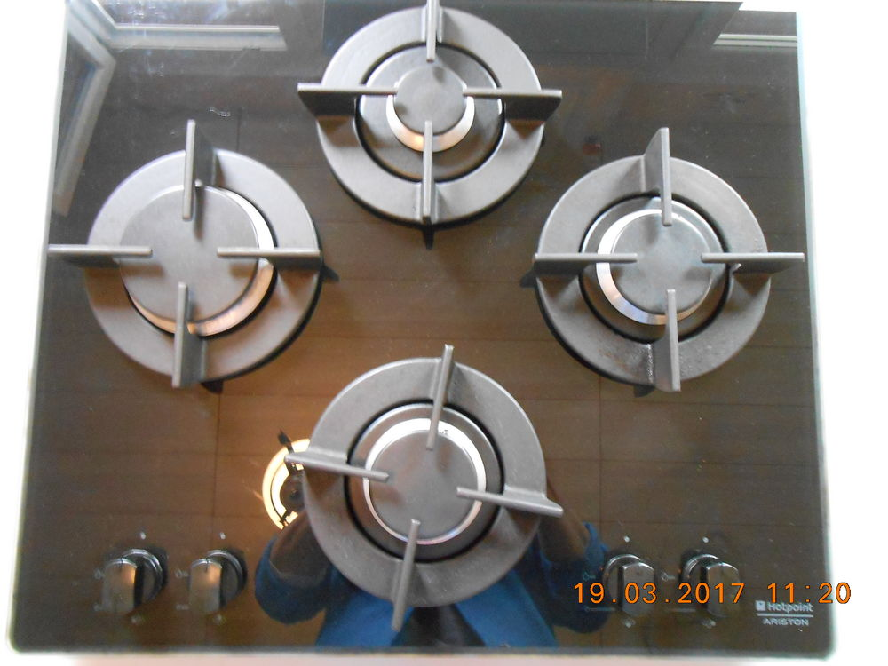 table gaz ( HOTPOINT - ARISTON ) 
