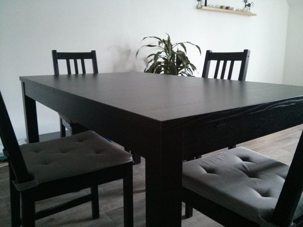 cool table ikea stornas meubles with table a rallonge ikea. Black Bedroom Furniture Sets. Home Design Ideas